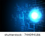 technology background  abstract ...