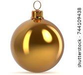 Golden Christmas Ball...