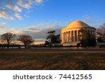 Jefferson Memorial In...