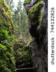 autumn motives in germany. | Shutterstock . vector #744132826