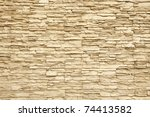 Pattern Of Modern Brick Wall...