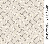 seamless pattern. abstract... | Shutterstock . vector #744159685