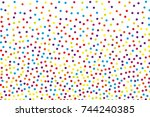 background with irregular ... | Shutterstock .eps vector #744240385