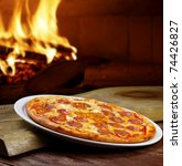 pizza oven | Shutterstock . vector #74426827