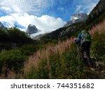 hiking in canada | Shutterstock . vector #744351682