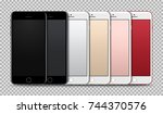 high detailed realistic...   Shutterstock .eps vector #744370576