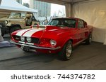 dubai  uae   march 25   ford... | Shutterstock . vector #744374782