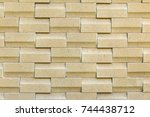 a close up picture pattern of... | Shutterstock . vector #744438712