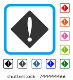 problem icon. flat gray iconic...