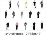 vector illustration of... | Shutterstock . vector #74450647