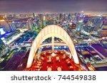 bangkok   thailand october 15 ... | Shutterstock . vector #744549838