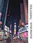 new york  ny  usa  may 7  times ...   Shutterstock . vector #744557332