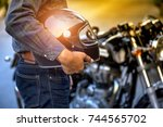 motorcycle  biker wear jeans...