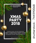 Christmas Party Poster Design....