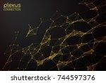 abstract vector illustration....   Shutterstock .eps vector #744597376