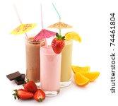three assorted protein... | Shutterstock . vector #74461804
