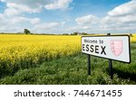 Welcome To Essex Sign  Uk. A...