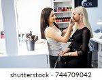 grodno  belarus   october 15 ... | Shutterstock . vector #744709042