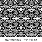 seamless geometric pattern.... | Shutterstock .eps vector #74474152