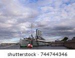 russia  st. petersburg   june ...   Shutterstock . vector #744744346