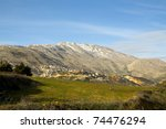 Mount Hermon  Golan Heights And ...