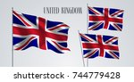 united kingdom of great britain ... | Shutterstock .eps vector #744779428