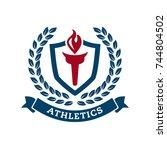 school  university or college...   Shutterstock .eps vector #744804502