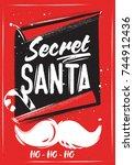 chalk christmas poster secret...