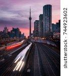 Small photo of Toronto Skyline