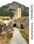 france  briancon  fortress... | Shutterstock . vector #744938392