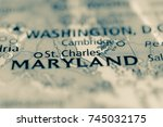 st. charles  maryland  usa. | Shutterstock . vector #745032175