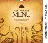 Restaurant Menu Design. Vector...