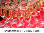 champagne | Shutterstock . vector #745077106