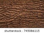 relief creative texture of an... | Shutterstock . vector #745086115