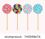 Set Of Lollipops