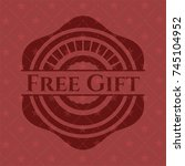 free gift red emblem