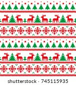 New Year's Christmas Pattern...