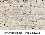 A Wall From Natural Stone...