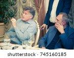 odessa  ukraine october 23 ... | Shutterstock . vector #745160185