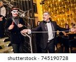 odessa  ukraine october 31 ... | Shutterstock . vector #745190728