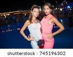 odessa  ukraine august 1  2014  ... | Shutterstock . vector #745196302