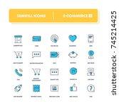 line icons set. e commerce 2...