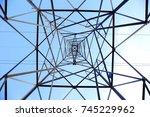 photos from the bottom corner... | Shutterstock . vector #745229962