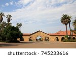 stanford university in usa | Shutterstock . vector #745233616