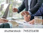 entrepreneurship new business... | Shutterstock . vector #745251658