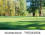 view of the forest around a... | Shutterstock . vector #745263436