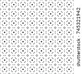 vector seamless pattern.... | Shutterstock .eps vector #745321942