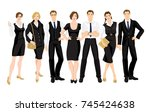 vector illustration of... | Shutterstock .eps vector #745424638