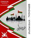 vector illustration november... | Shutterstock .eps vector #745434688