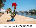rooster of barcelos  galo de... | Shutterstock . vector #745455262